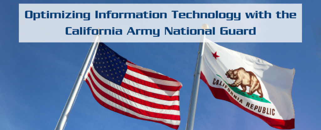 Trofholz provides dedicated IT security & support for the California Army National Guard.